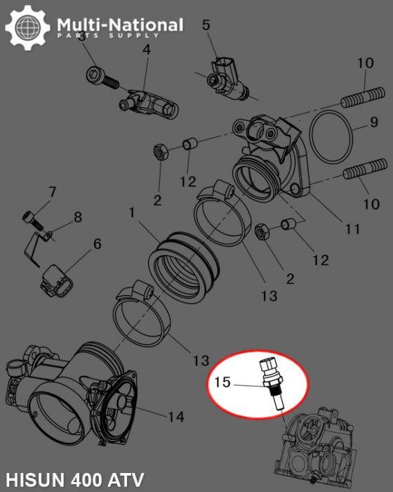 Brake Light Bulb for 400cc 500cc 700cc UTV HiSUN QLINK MASSIMO SUPERMACH NEW